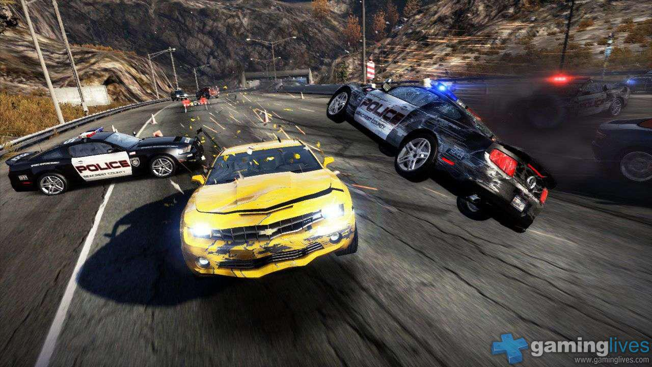 Need for speed hot pursuit review gaminglives a stack of game modes to keep you happy for both sides race just a plain old fashioned race time trial race against the clock hot pursuit voltagebd Gallery