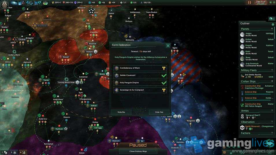 Stellaris Diary Part 4: Falling to the Fallen | GamingLives