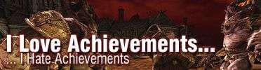 I Love Achievements, I Hate Achievements