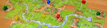 Acoustic Gaming: Carcassonne